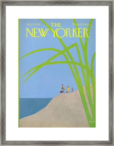 New Yorker July 13th, 1968 Framed Print