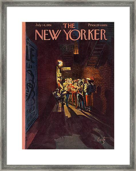 New Yorker July 14th, 1951 Framed Print