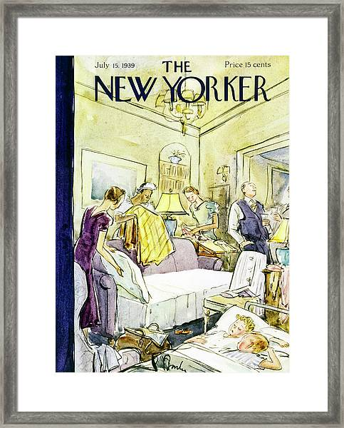 New Yorker July 15 1939 Framed Print by Perry Barlow