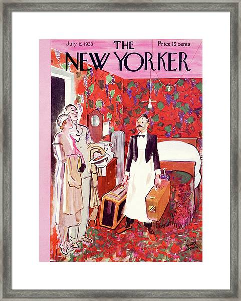 New Yorker July 15th, 1933 Framed Print