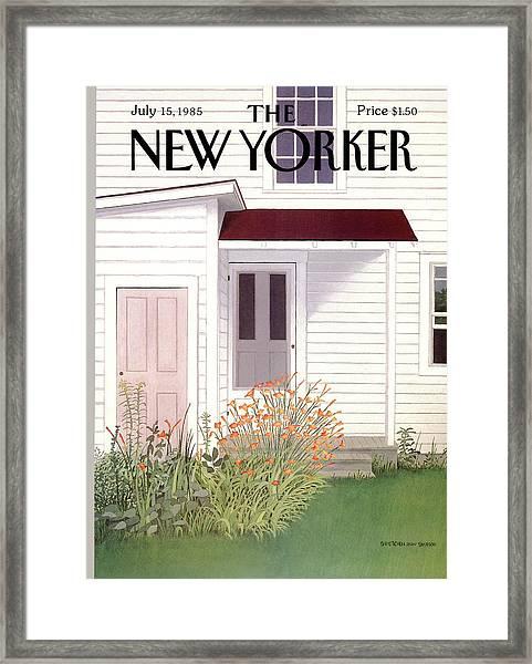 New Yorker July 15th, 1985 Framed Print