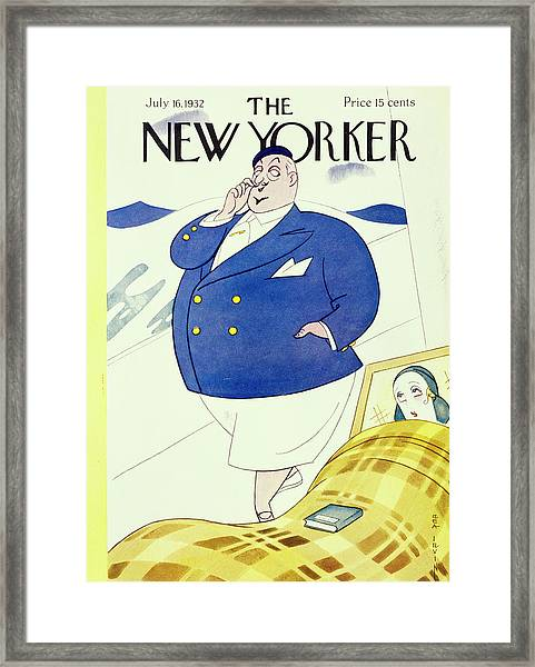 New Yorker July 16 1932 Framed Print