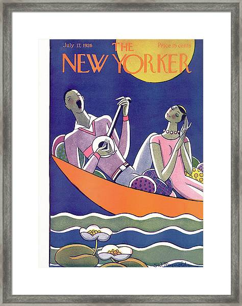 New Yorker July 17th, 1926 Framed Print