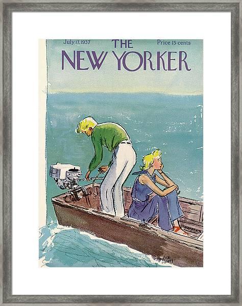 New Yorker July 17th, 1937 Framed Print