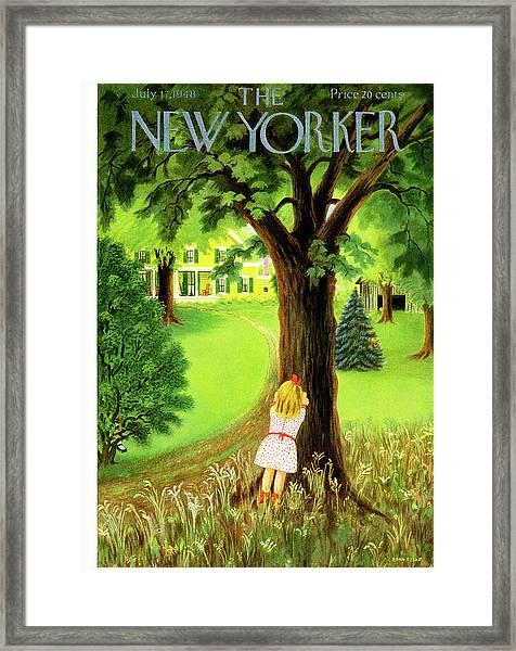 New Yorker July 17th, 1948 Framed Print
