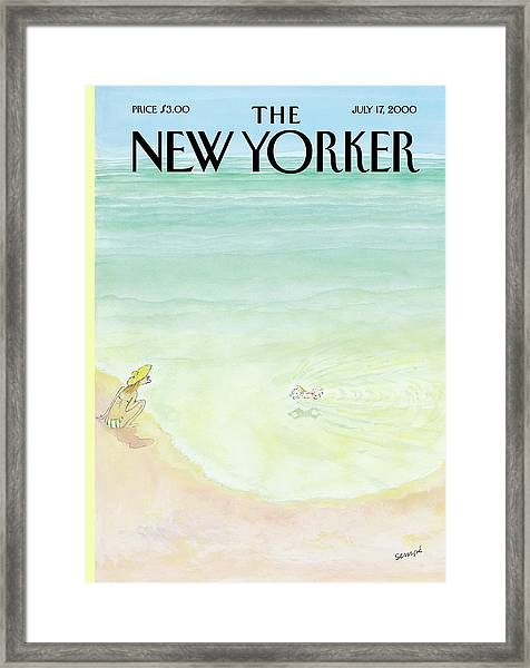 New Yorker July 17th, 2000 Framed Print