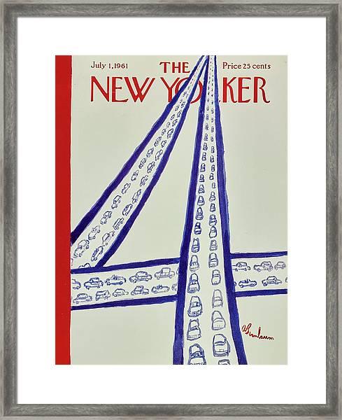 New Yorker July 1st 1961 Framed Print