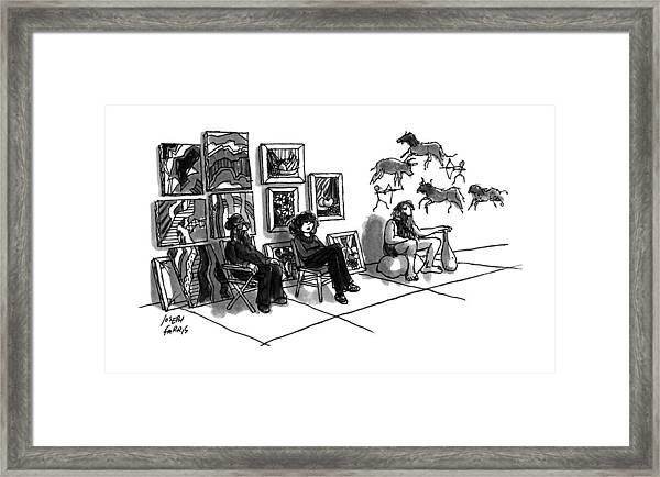 New Yorker July 1st, 1991 Framed Print