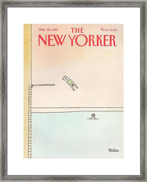 New Yorker July 20th, 1981 Framed Print