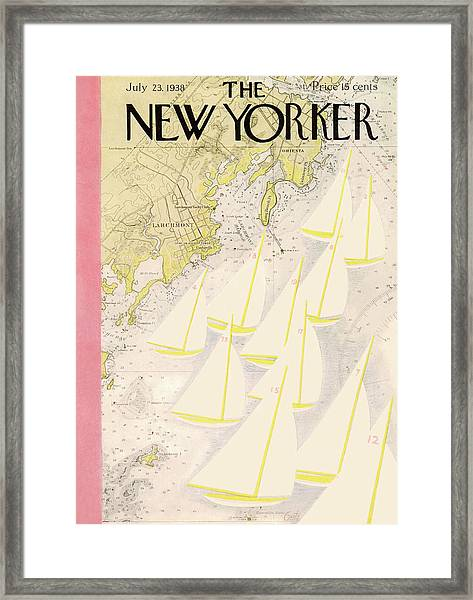 New Yorker July 23rd, 1938 Framed Print