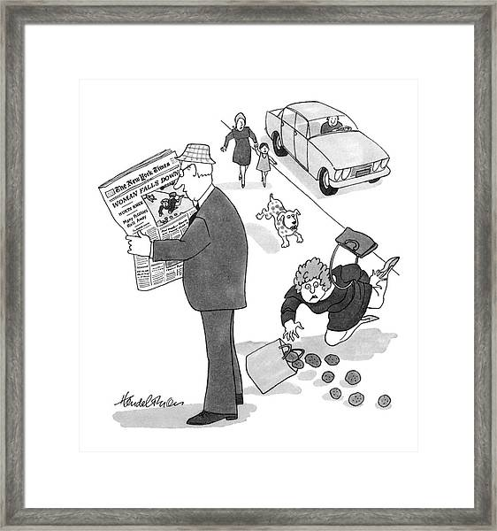 New Yorker July 23rd, 1979 Framed Print
