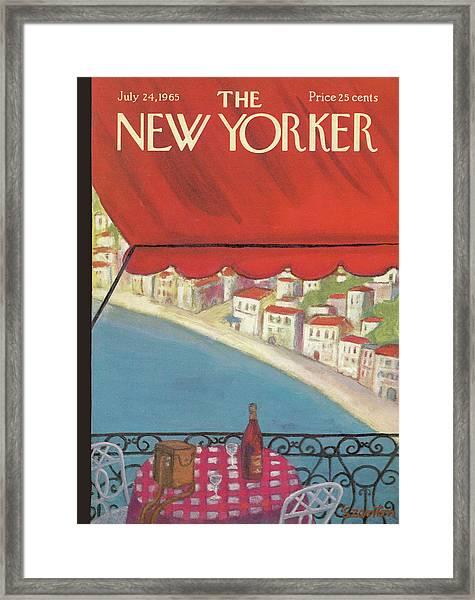 New Yorker July 24th, 1965 Framed Print