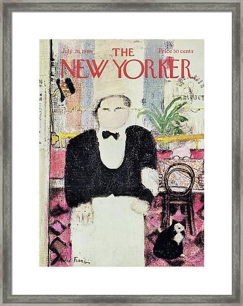 New Yorker July 26th 1969 Framed Print
