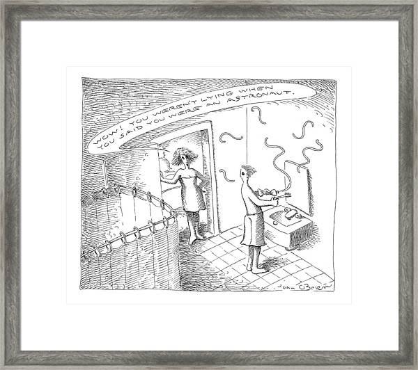New Yorker July 26th, 1999 Framed Print
