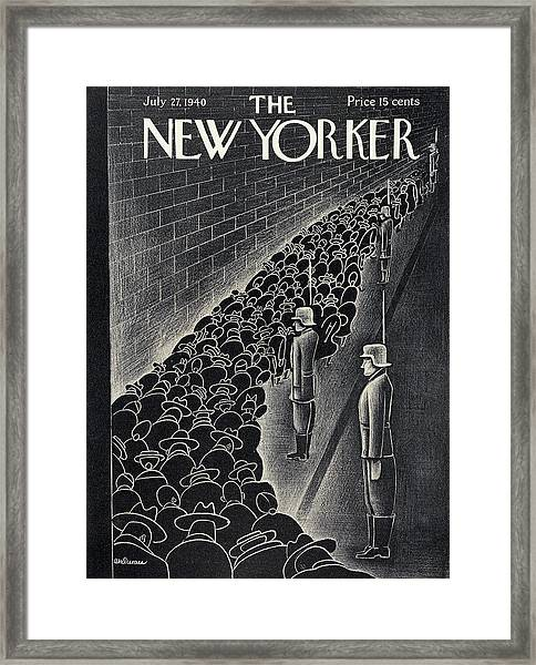 New Yorker July 27th, 1940 Framed Print
