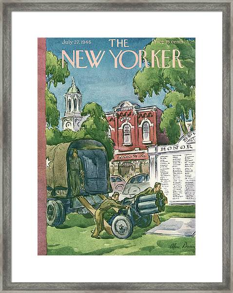 New Yorker July 27th, 1946 Framed Print