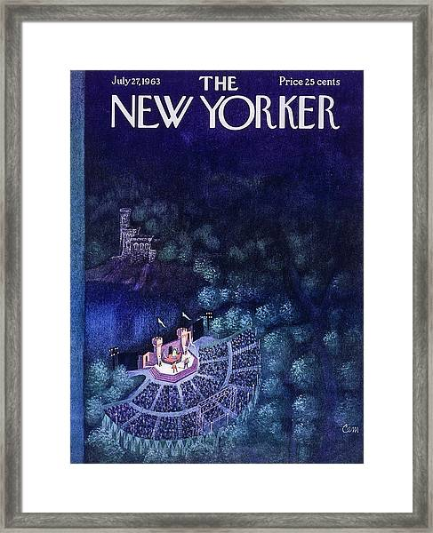 New Yorker July 27th 1963 Framed Print
