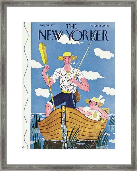 New Yorker July 30th, 1932 Framed Print