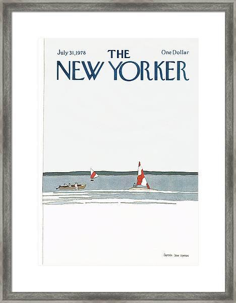 New Yorker July 31st, 1978 Framed Print