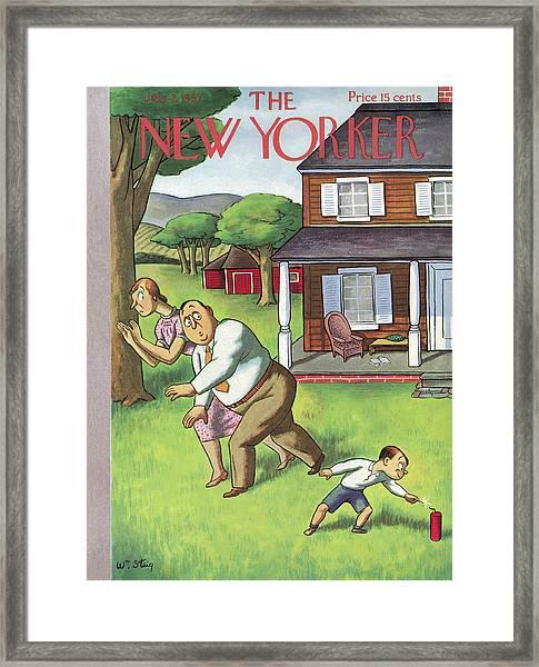 New Yorker July 3rd, 1937 Framed Print