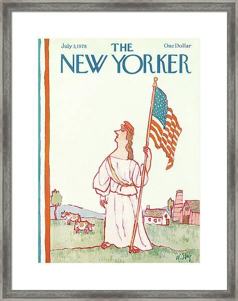 New Yorker July 3rd, 1978 Framed Print