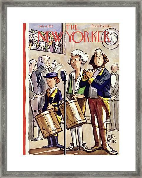New Yorker July 4 1936 Framed Print