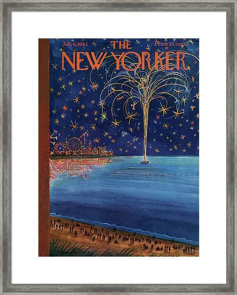 New Yorker July 6th, 1963 Framed Print