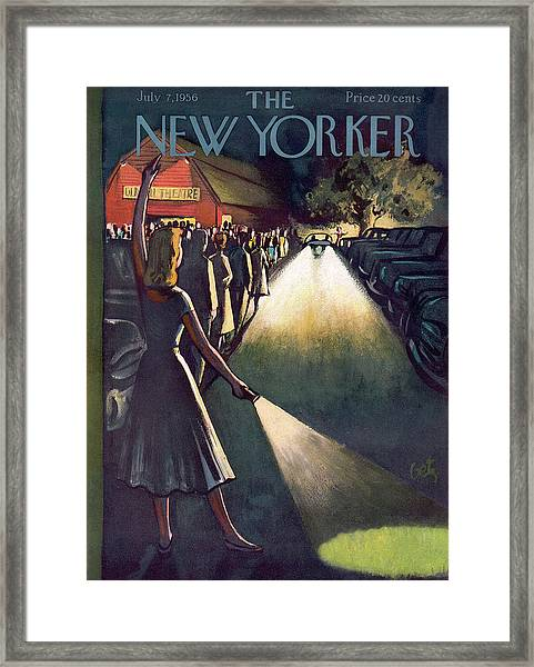 New Yorker July 7th, 1956 Framed Print