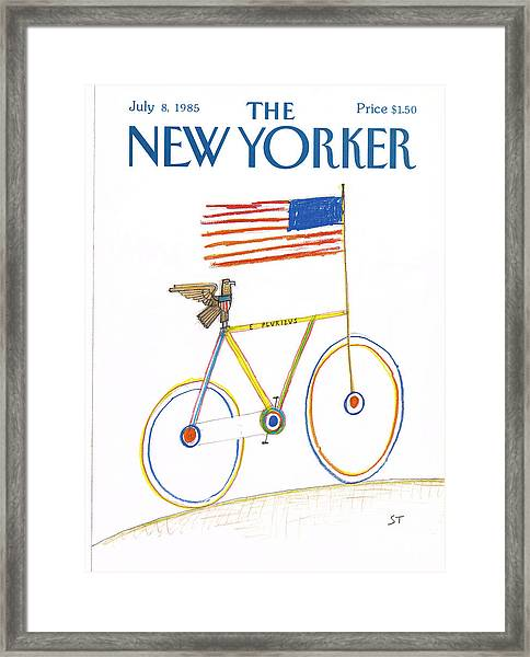 New Yorker July 8th, 1985 Framed Print
