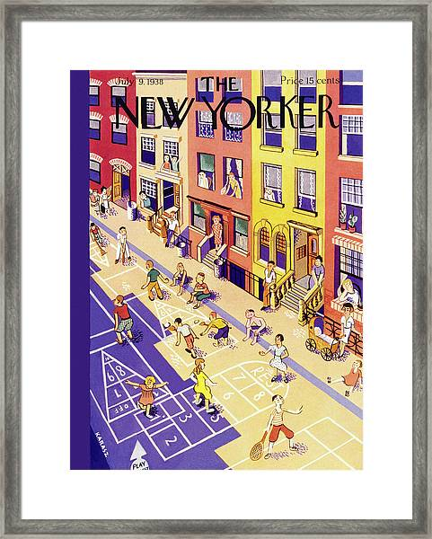 New Yorker July 9 1938 Framed Print
