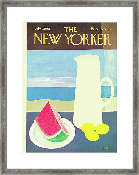 New Yorker July 9th, 1966 Framed Print