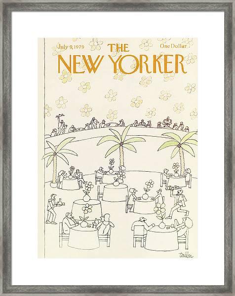 New Yorker July 9th, 1979 Framed Print