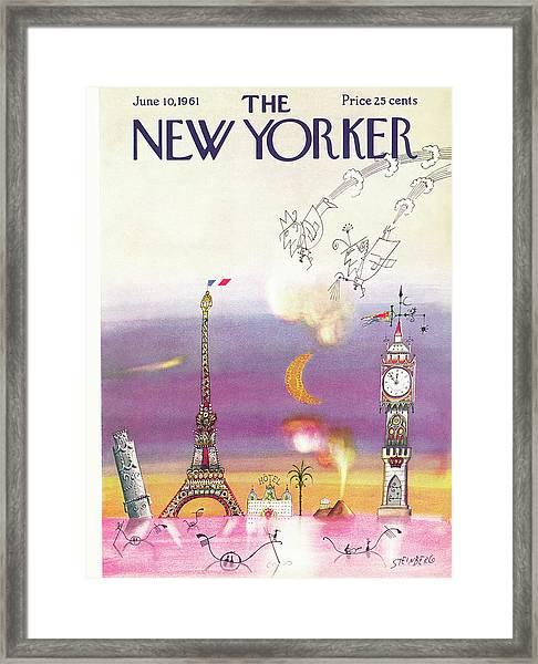 New Yorker June 10th, 1961 Framed Print