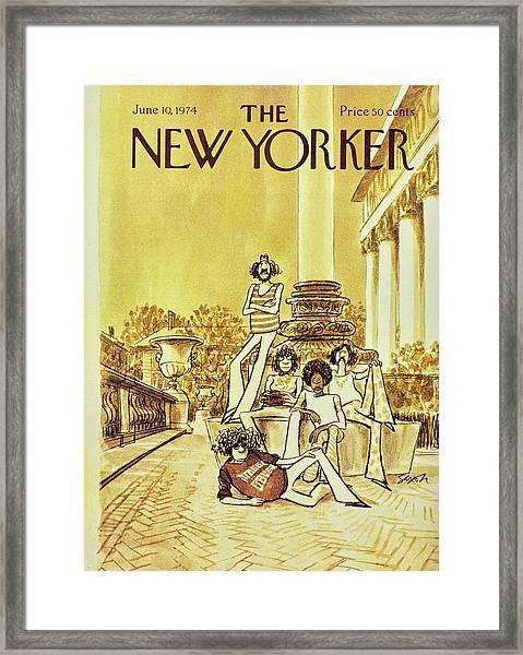 New Yorker June 10th 1974 Framed Print