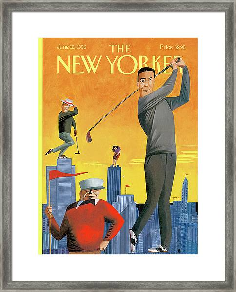 New Yorker June 10th, 1996 Framed Print
