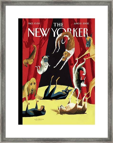 New Yorker June 10th, 2002 Framed Print
