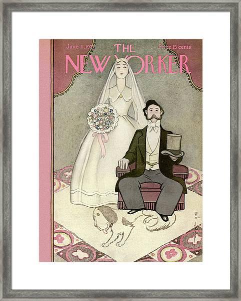 New Yorker June 11th, 1927 Framed Print
