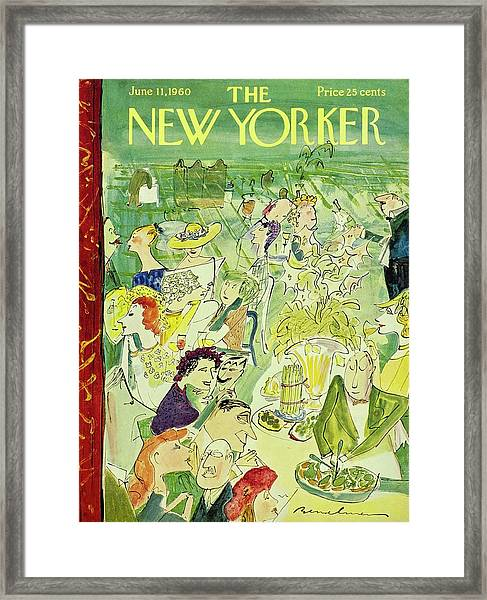 New Yorker June 11th 1960 Framed Print