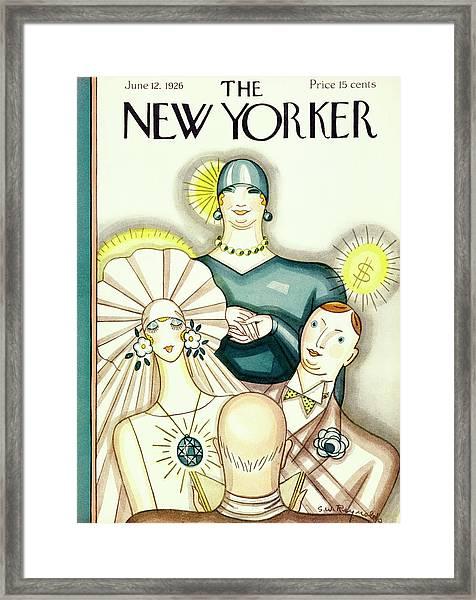 New Yorker June 12 1926 Framed Print