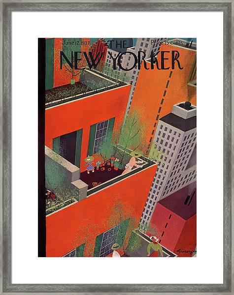 New Yorker June 12th, 1937 Framed Print