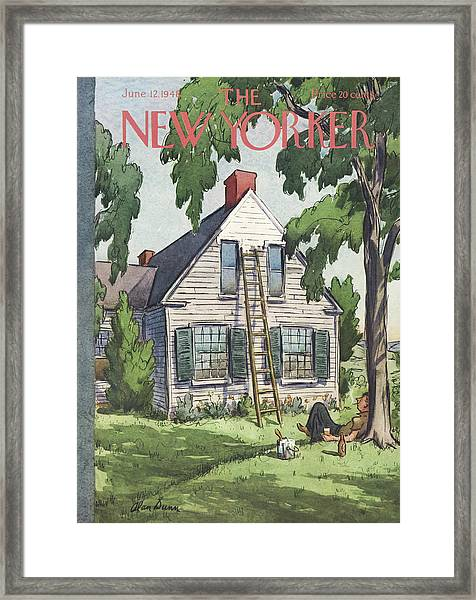 New Yorker June 12th, 1948 Framed Print