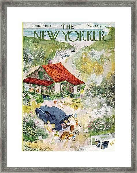 New Yorker June 12th, 1954 Framed Print