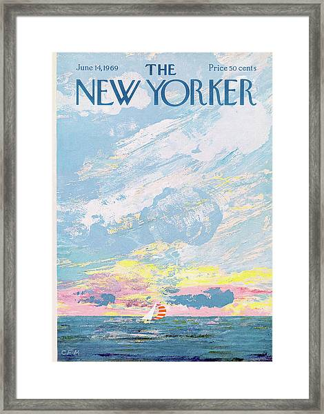 New Yorker June 14th, 1969 Framed Print