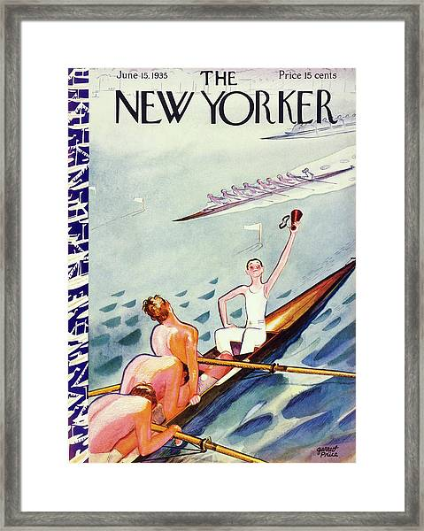 New Yorker June 15 1935 Framed Print