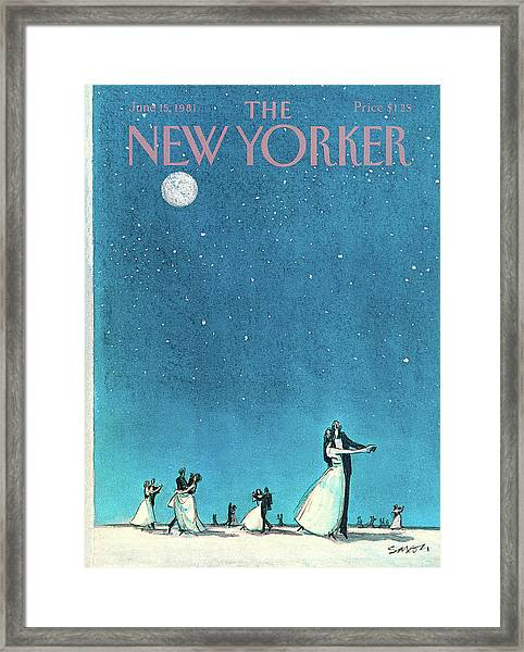 New Yorker June 15th, 1981 Framed Print