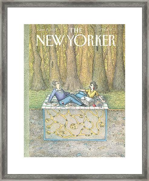 New Yorker June 15th, 1992 Framed Print