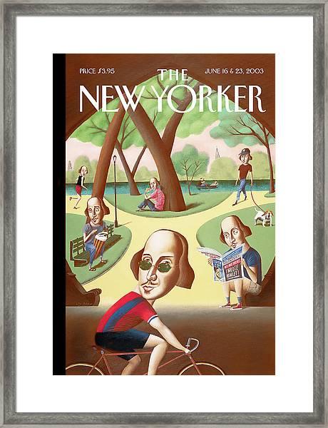New Yorker June 16th, 2003 Framed Print