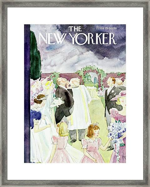 New Yorker June 17 1939 Framed Print
