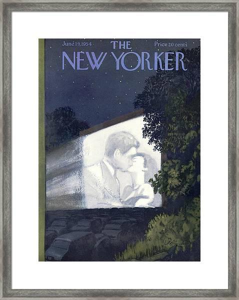 New Yorker June 19th, 1954 Framed Print