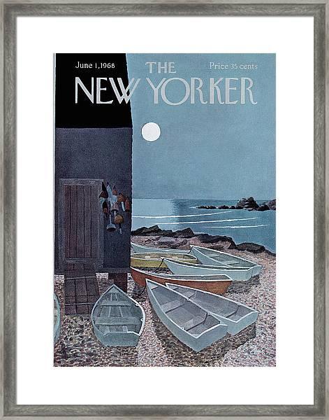 New Yorker June 1st, 1968 Framed Print